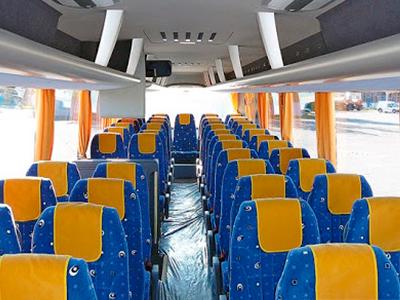 сколько мест в автобусе фото