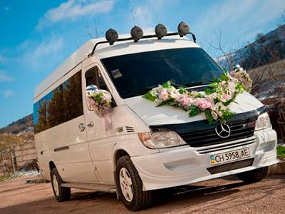 Какой автобус выбрать на свадьбу