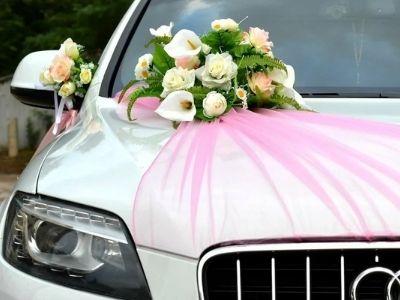 как украсить свадебный кортеж 2021 фото